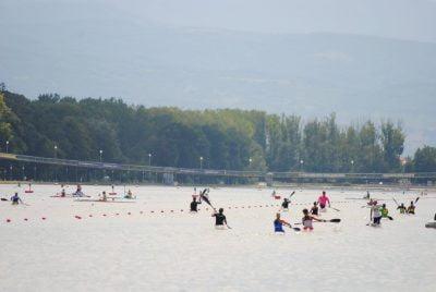 junior kayakers